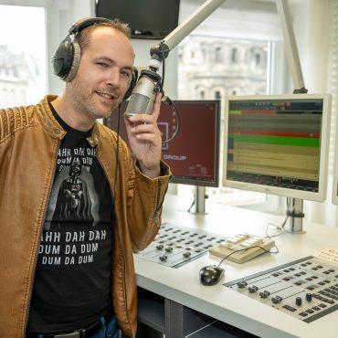 Moderator Dominik Fries