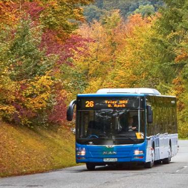 Busfahren wird teurer